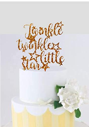 Image Unavailable Not Available For Color Twinkle Little Star Cake Topper Birthday
