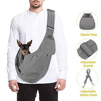 Amazon.com: SlowTon - Bolsa de transporte para mascotas, con ...