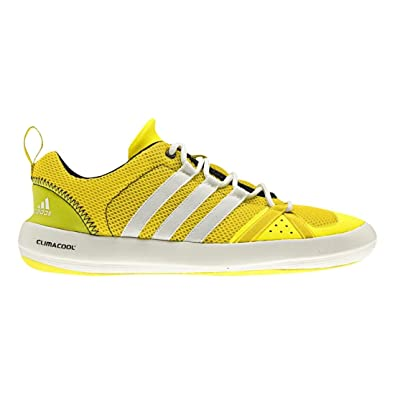 2839e7ff1a975 adidas G60608-9.5 Men S Climacool Boat Lace Shoes Lab Lime 9.5  UK SIZE