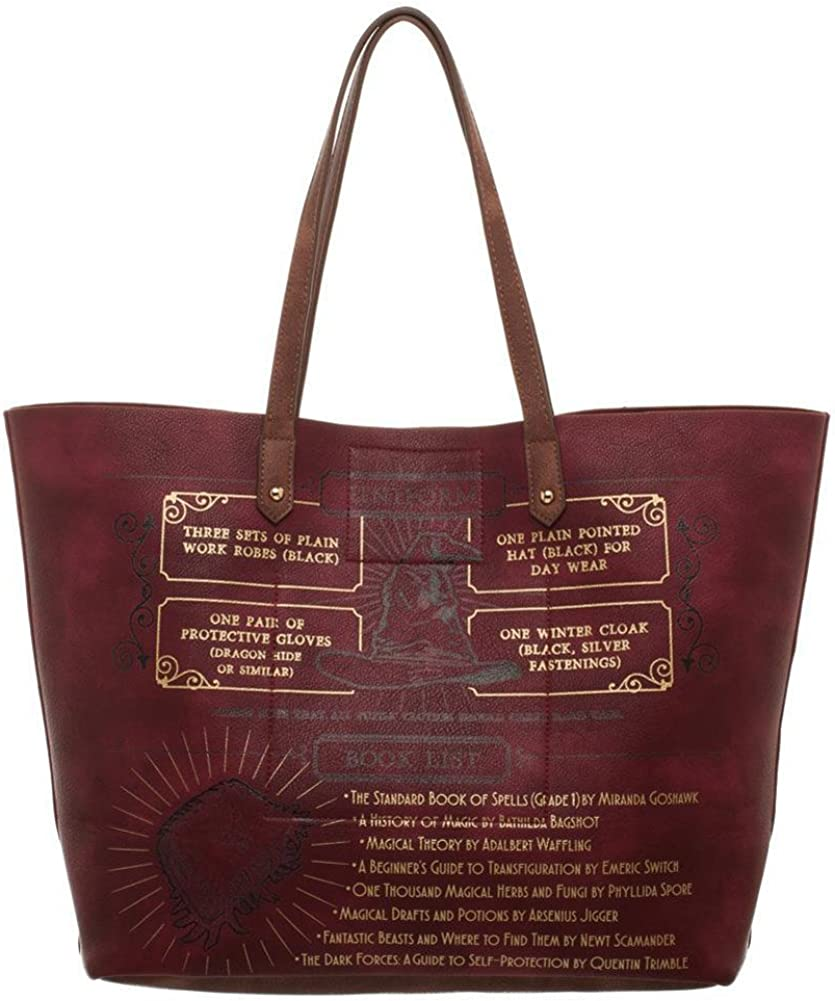 Mondo Bag Extra Large Tote Overnight bag with pocket Harry Potter print