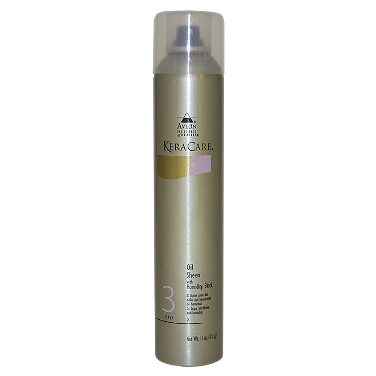 Keracare Oil Sheen Spray With Humidity Block, 10 Oz