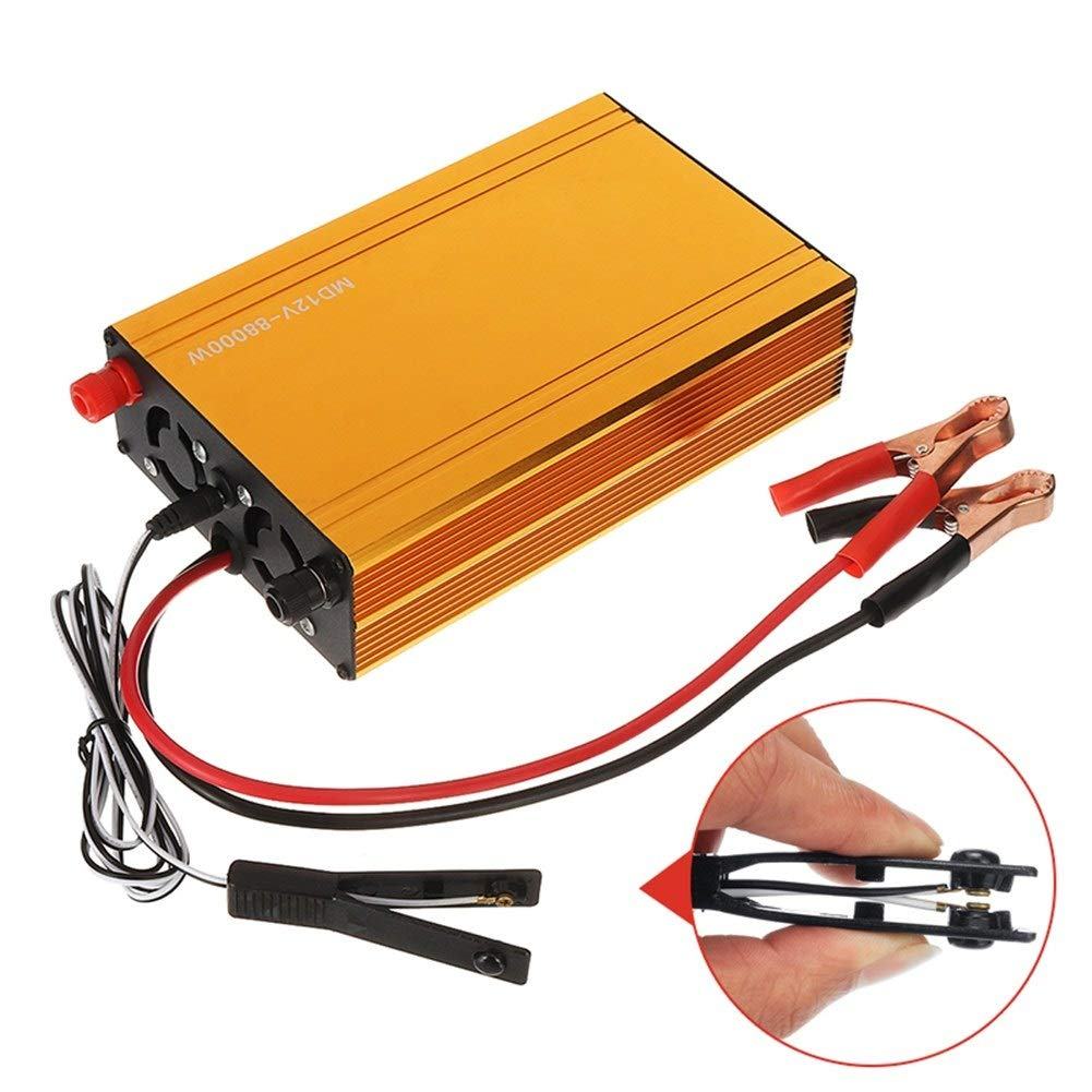 YONH Wa 88000W 36A 12V DC Inverter ad ultrasuoni ad Alta Potenza Electro Tensione Booster Invertitore di Potenza