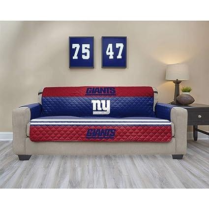 1 pieza azul NFL Giants sofá pantalla, con diseño de fútbol ...