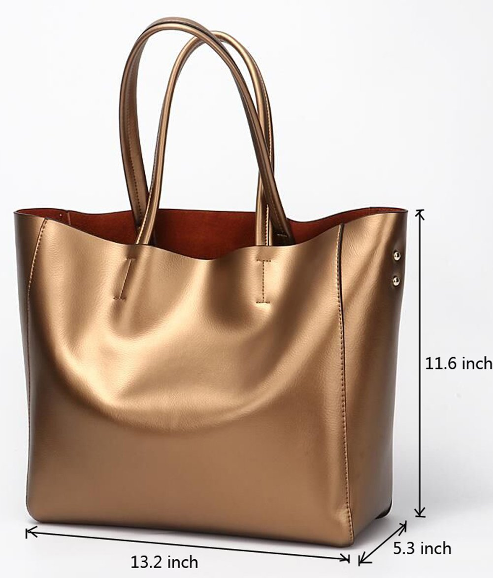 Covelin Women's Handbag Genuine Soft Leather Tote Shoulder Bag Hot