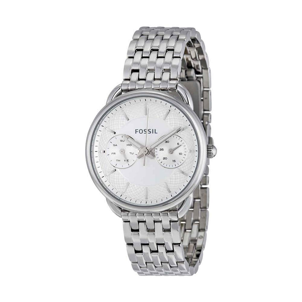 Fossil Women's ES3712 Tailor Silver-Tone Stainless Steel Watch by Fossil