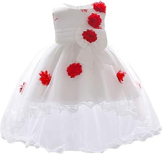 Amazon.com: Vestido para recién nacido para 1 año, vestido ...