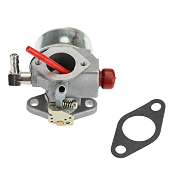 kkmoon Carburador para Tecumseh Toro Recycler Cortacésped Para 20016 20017 20018 6,75 HP 640262