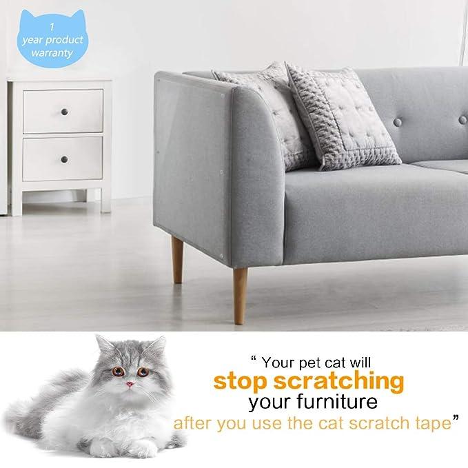 Amazon.com: PETRIP - Cinta antiarañazos para gatos, 6 ...