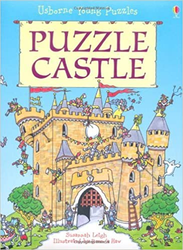 Book Puzzle Castle (Usborne Young Puzzles) by Susannah Leigh (2010-06-30)