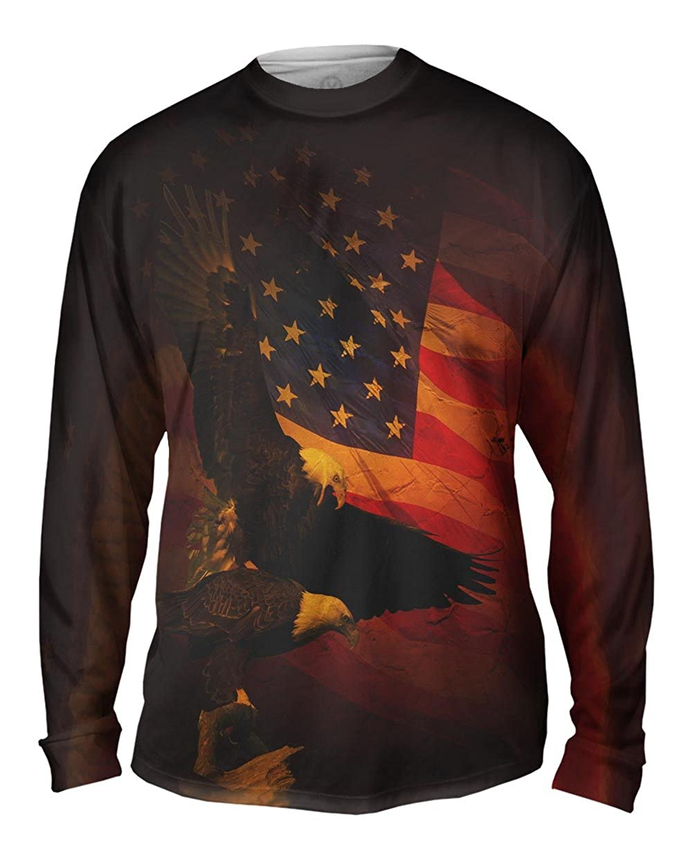 American Flight Mens Long Sleeve Yizzam TShirt