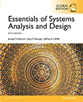 Essentials of Systems Analysis and Design, 6th Global Edition Front Cover