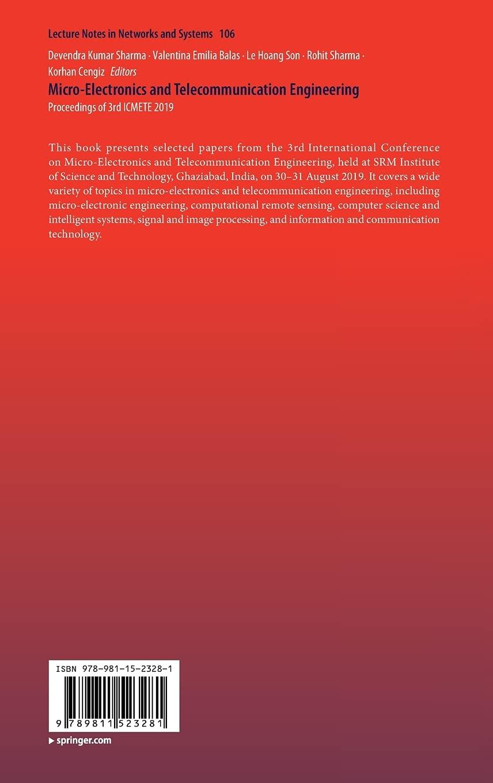 Micro Electronics and Telecommunication Engineering Proceedings ...
