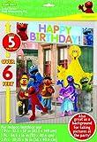 Sesame Street Scene Setter Decoration Set (Multi-colored) Party Accessory, Health Care Stuffs