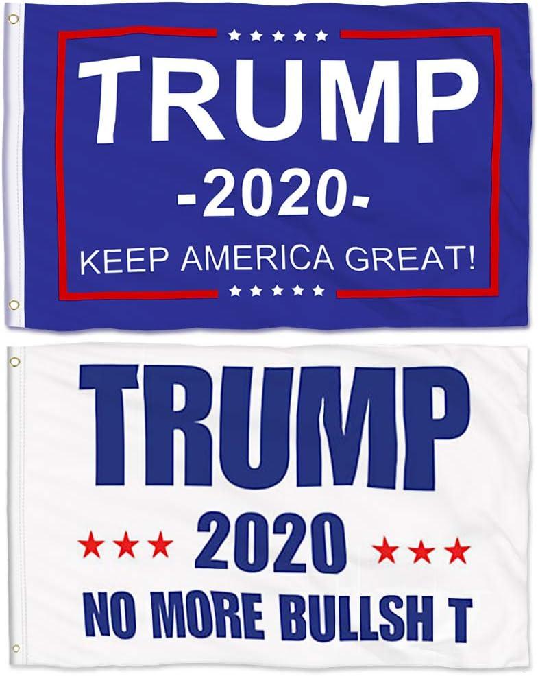 100 Pcs Trump 2020 President Donald trump us Keep America Great Flag wholesale