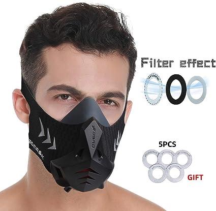 6 Level Professional Training Exercise Face Mask Workout Oxygen Improve Sport