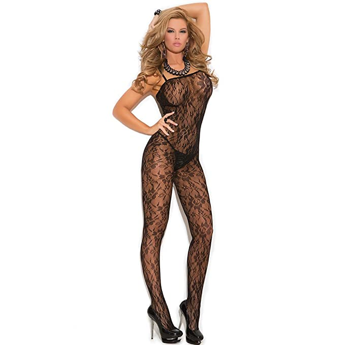 94fa5e6ed67 JYC Clearance Hot Sale 2018 Women s Hollow Out Fishnet Bodystocking Open  Crotch Strap Floral Lace Bodysuit Lingerie Lace Fishnet Open Crotch  Bodystocking ...