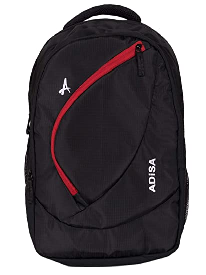ADISA BP004 Black Light Weight 31 Ltrs Casual Laptop Backpack  Amazon.in   Bags d93e093ba02d7