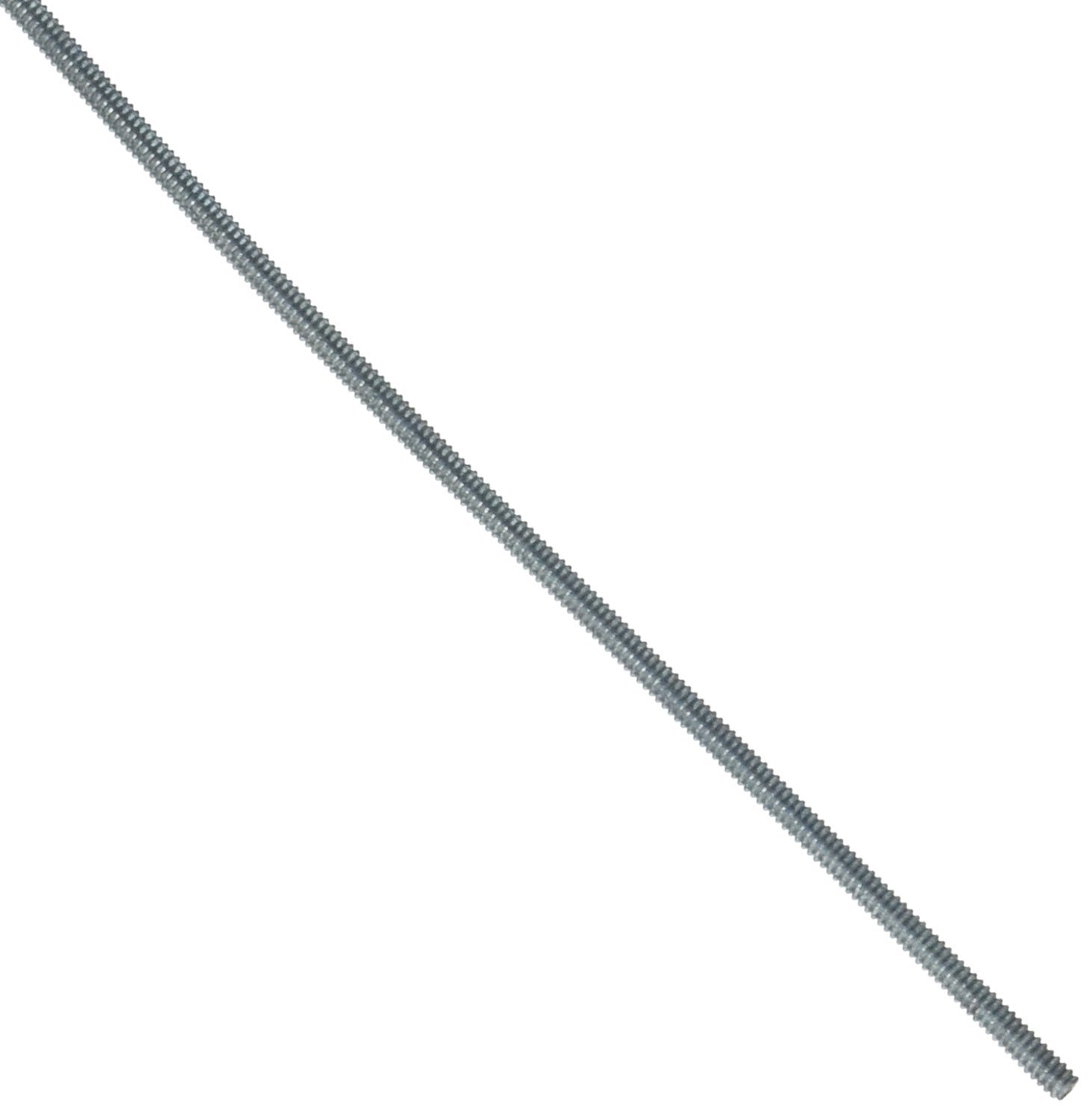 24 Length #4-40 Thread Size Zinc Plated Right Hand Threads 24 Length Small Parts 79106 Steel Fully Threaded Rod