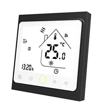 Onepeak Termóstato Wifi programable de para calentamiento de agua Pantalla LCD Controlador de temperatura WIFI inteligente