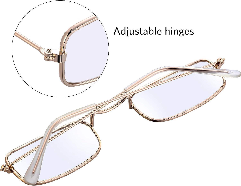 Skeleteen Old Man Costume Glasses Rectangular Granny Dress Up Eyeglasses 1 Pair