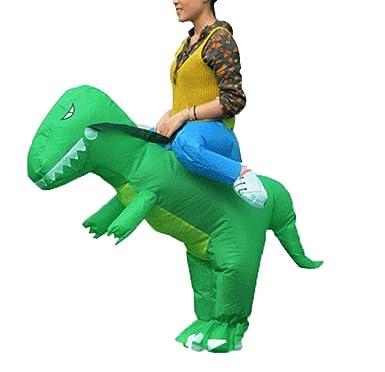 Traje Disfraces Halloween Traje De Montar Dinosaurio ...