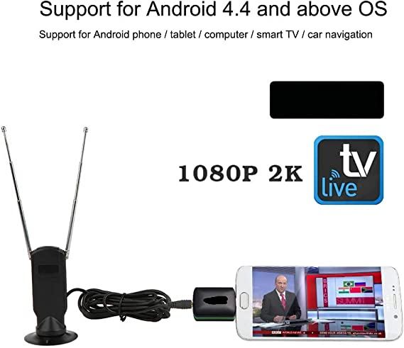 Mugast Receptor de TV Digital, HD 720P Señal inalámbrica ISDB ...