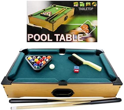 FindingKing 3 Tabletop Pool Table 22 Pieces