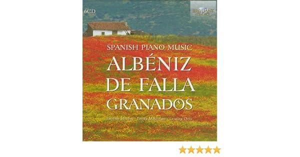 Albeniz, Granados, De Falla - Spanish Piano Music by Albeniz (2012-03-15) - Amazon.com Music