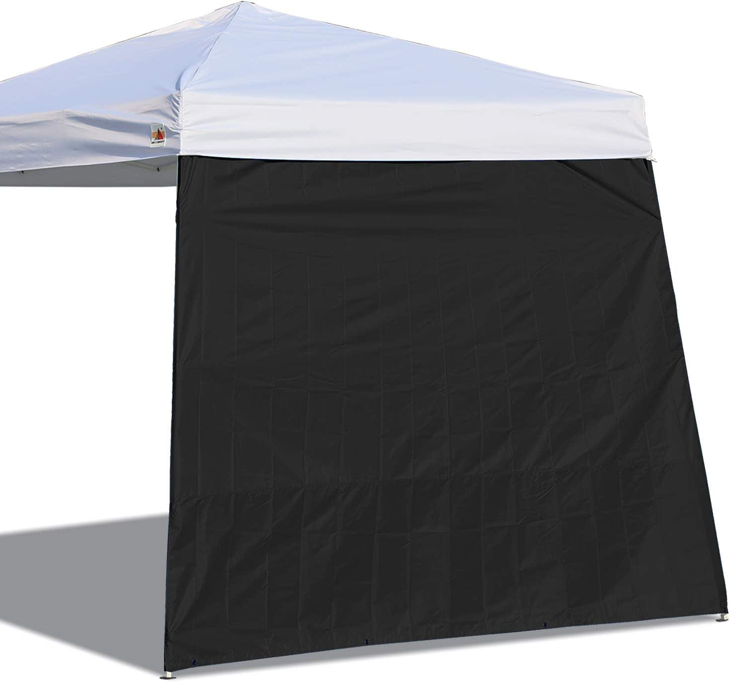 ABCCANOPY Canopy Side Wall for 10'x 10' Slant Leg Canopy Tent, 1 Pack Sidewall Only, Black