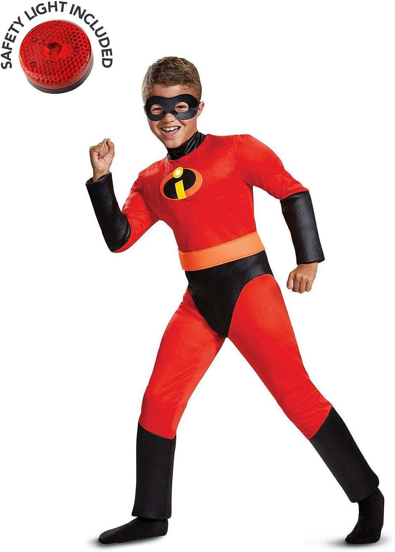 BirthdayExpress Incredibles Dash Costume Kit with Safety Light - Kids M