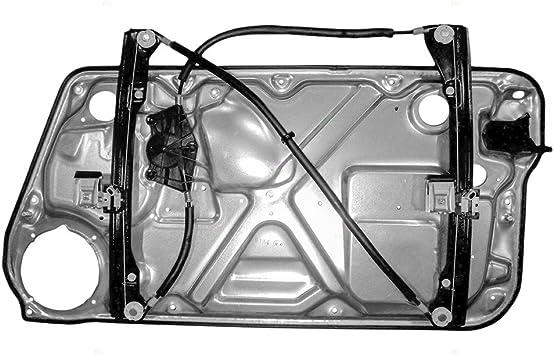 Amazon Com Power Window Lift Regulator With Interior Door Panel Drivers Front Replacement For 98 10 New Beetle Hatchback 1c0837655c Automotive
