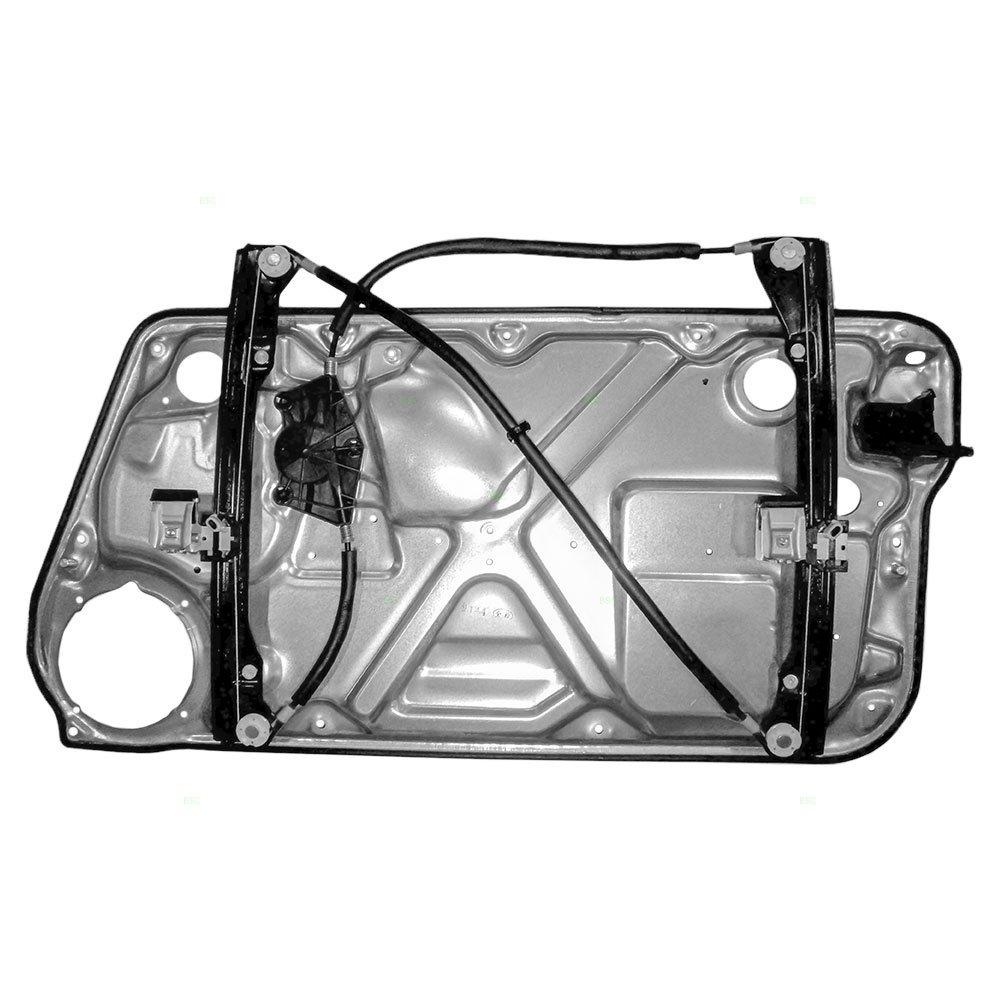 Drivers Front Power Window Lift Regulator With Interior 1998 Volkswagen Beetle Door Wiring Harness Panel Replacement For 1c0837655c Automotive