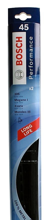 Bosch 646945 2 escobillas limpiaparabrisas para Megane