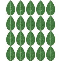 DOITOOL 50Pcs Planta Folhas Forma Grampos de Fixação Na Parede De Escalada Jardim Planta Flor Fixador Gancho Auto…