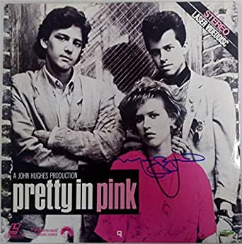 MOLLY RINGWALD SIGNED Pretty In Pink Laser Disc OC Dugout Hologram Auto