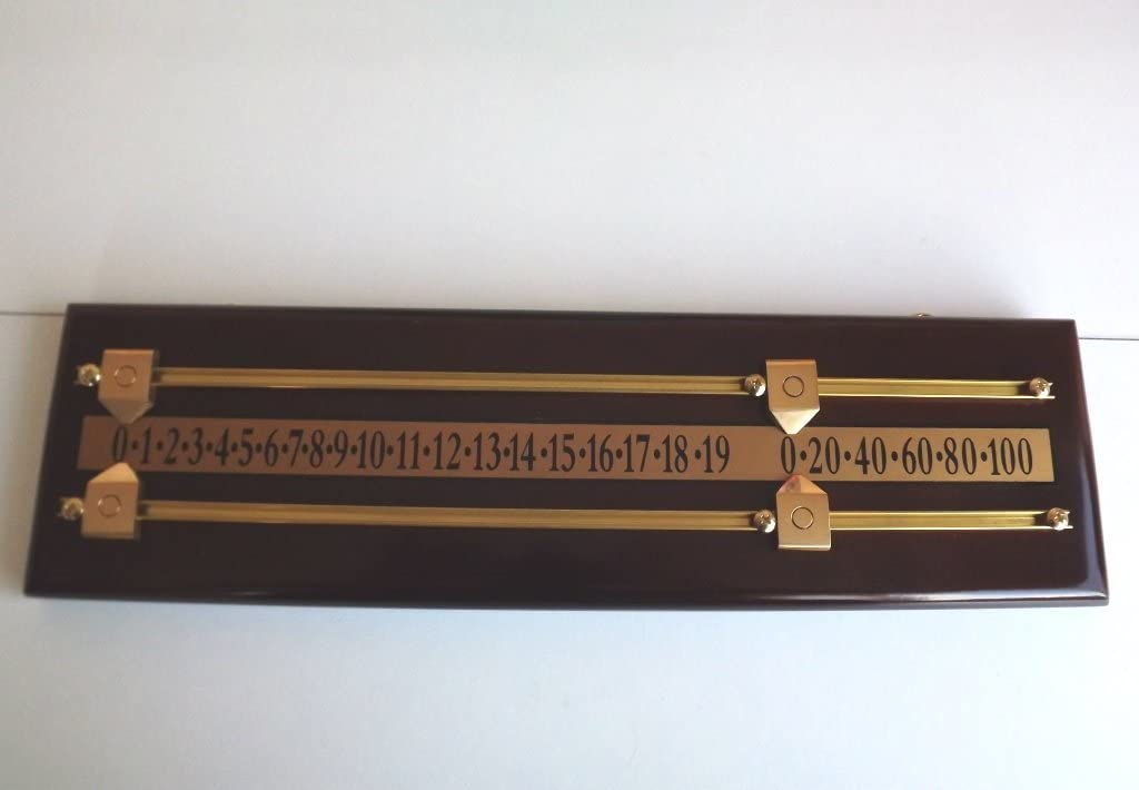 SGL - Mini marcador para billar (modalidad snooker, madera de ...