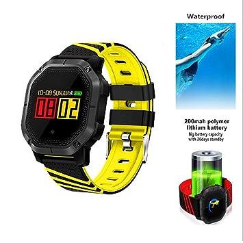 HIXGB Pulsera Actividad,Reloj Inteligente con Impermeable,Monitor De Frecuencia Cardíaca,Podómetro,