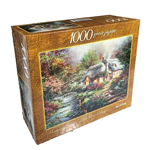 Harmony Series Little River Cottage 1000 Piece Jigsaw Puzzle Nicky Boehme by Nicky Boehme