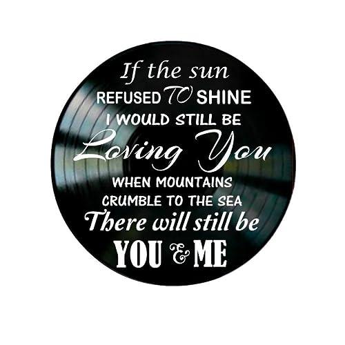 amazon com led zeppelin thank you song lyrics on a vinyl record