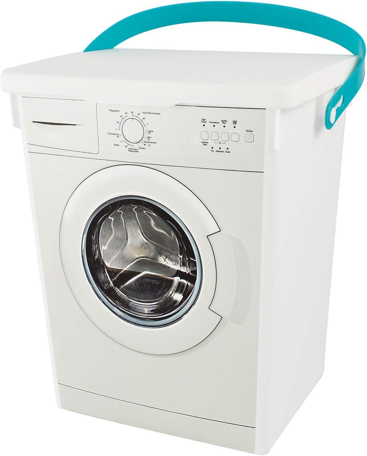 Caja Contenedor Caja de detergente Pinzas de ropa de caja animal Forro Cubo Caja de 5 l): Amazon.es: Hogar