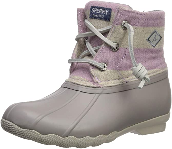 Sperry Baby-Girl's Saltwater Boot Ankle