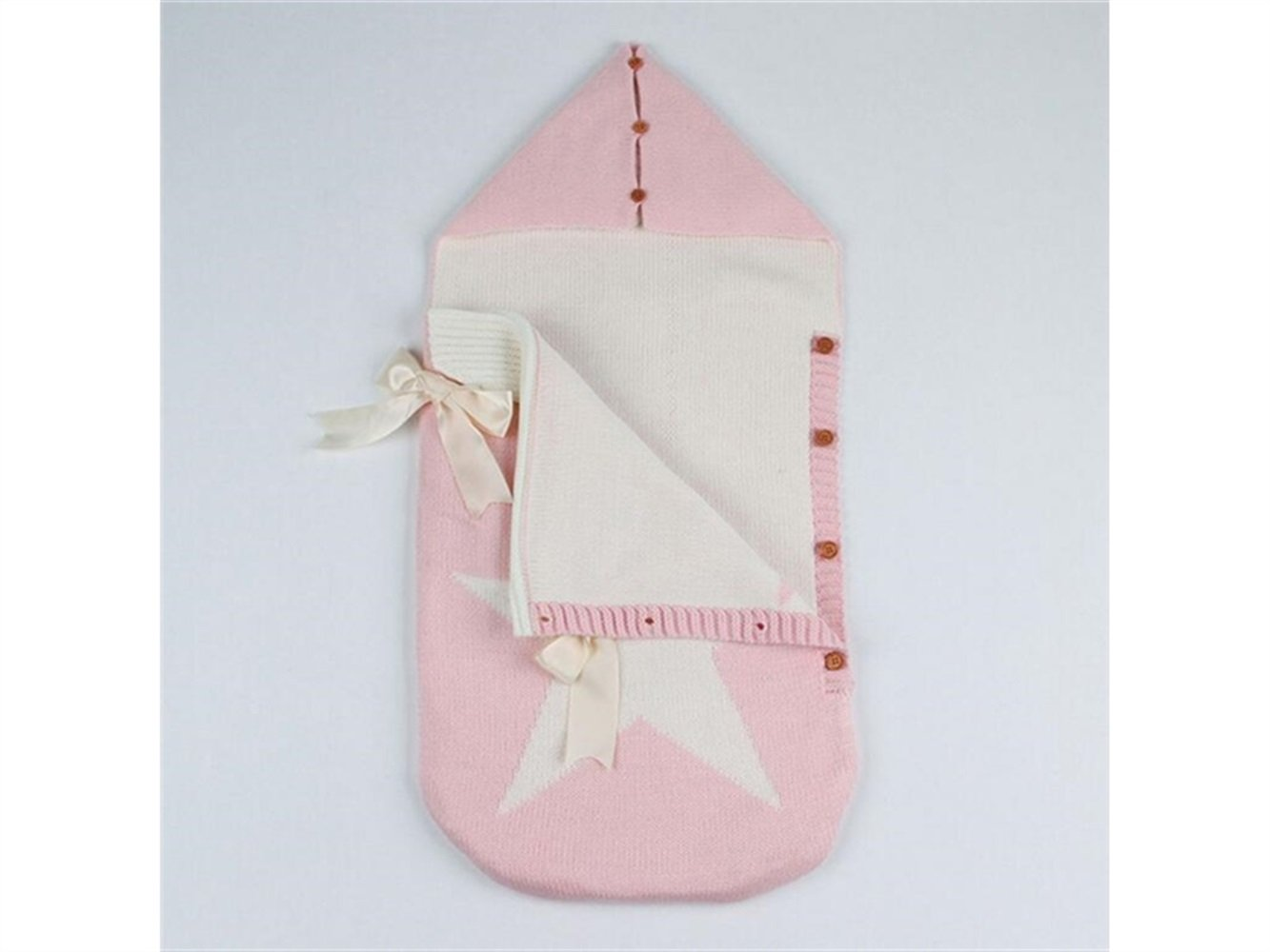 Amazon.com: Zehaer Night Sleeping Bag Newborn Toddler Pentagram Pattern Sleeping Bag Knitting Sleepsacks for 0-6 Months(Pink) Baby Products: Home & Kitchen