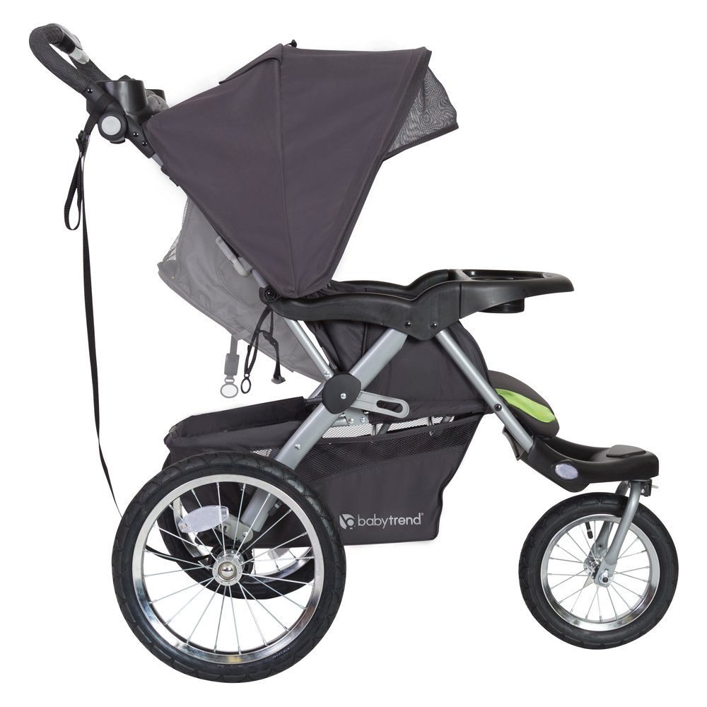 Baby Trend Expedition GLX Jogger Travel System, Flex Loc 32lb Car Seat, Peridot by Baby Trend (Image #4)