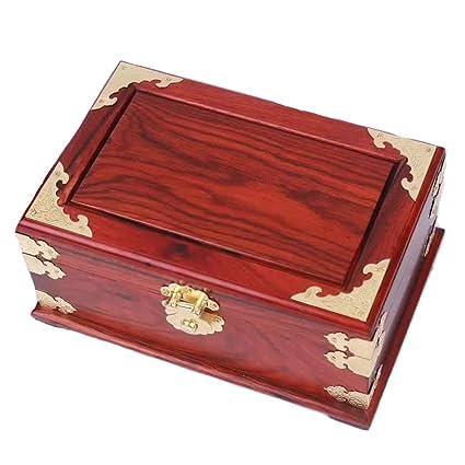 SXBISHNEG Caja de Almacenamiento de Madera Caja de Llaves y Cajas de Joyas Antiguas, Productos