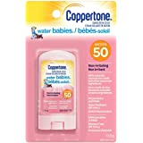 Coppertone Waterbabies sunscreen stick for Babies Spf 50, 12 X 13.9 gram, Easy To Apply Face and Body Sunscreen, Sun Protecti
