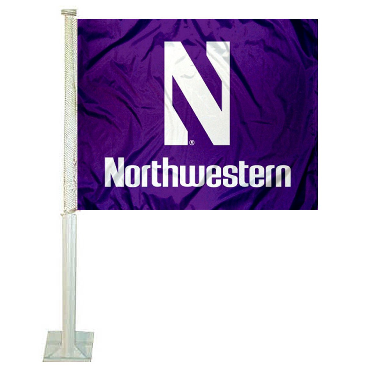 Northwestern Wildcats Car Flag College Flags and Banners Co.