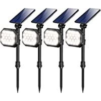4-Pack JSOT 22-LED Solar Spotlight