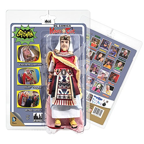 Batman Classic TV Series Action Figures Series 4: King Tut (King Tut Toys)