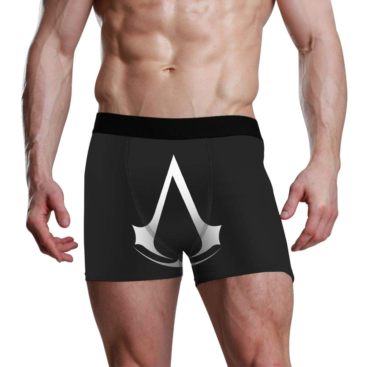 Assassin Creed Video Game Mens Underwear Soft Classic Boxer Briefs Stretch Trunks