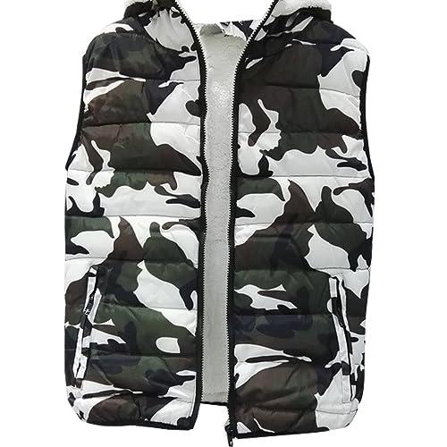 WTUS New Nikki Coat, Abrigo para Mujer,Camuflaje
